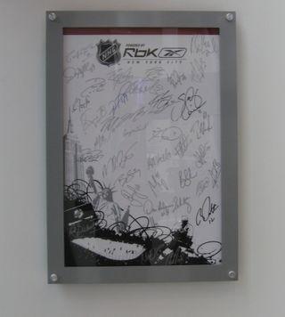 NHL RBK Poster