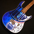 Oiler Autographed Guitar Auction