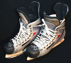 Hemsky Game-Worn Skates Auction