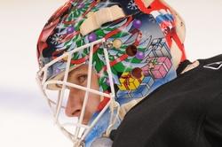 Ilya Bryzgalov Game-Worn Goalie Mask Auction