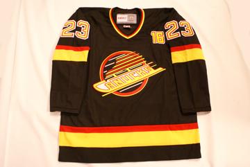 NHL Auctions Blog  Canucks Alumni Worn Trevor Linden Commemorative Jerseys!! d82d2f6a623
