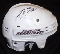 Andrew Ladd Game-Worn Autographed Helmet Auction