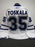 Vesa Toskala Autographed Jersey Auction