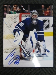 Vesa Toskala Autographed Photo Auction