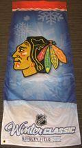 Chicago Blackhawks Winter Classic 2009 Banner Auction
