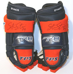 Steve Staios Game-Worn & Autographed Gloves Auction