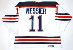 Mark Messier Signed Jersey Auction