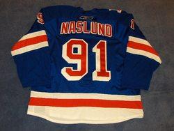 Markus Naslund Game-Used Adam Grave Night Jersey Auction