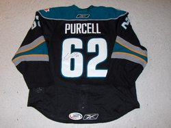 Teddy Purcell Warm Up-Worn 2009 AHL All Star Classic Jersey Auction