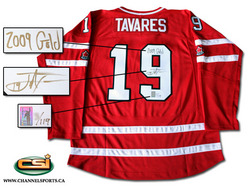 John Tavares Autographed Team Canada Jersey Auction