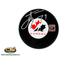 John Tavares Team Canada Puck Auction