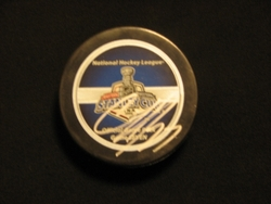 Craig Adams Autographed 2006 Stanley Cup Puck Auction