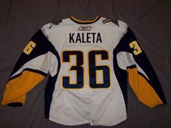 Pat Kaleta Game-Used Jersey Auction