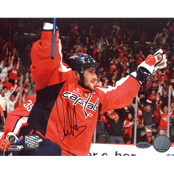 Alexanser Ovechkin Signed Photo Auction