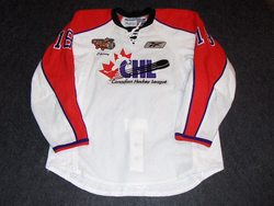 Carter Ashton Game-Worn CHL Top Prospects Jersey Auction