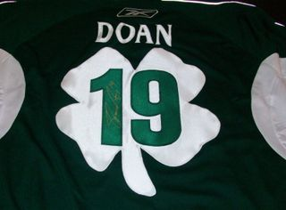 Shane Doan Signed & Worn Jersey Auction