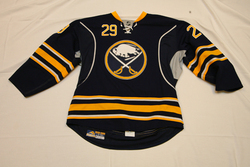 Jason Pominville Game-Used Third Jersey Auction