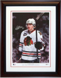 Patrick Kane Signed Art Print Auction