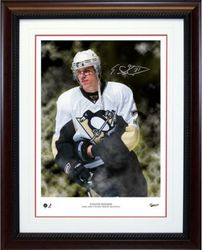 Evgeni Malkin Signed Art Print Auction