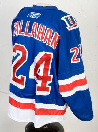 Ryan Callahan Game-Worn Adam Graves Night Jersey Auctions
