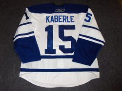 Tomas Kaberle Ace Bailey Game-Worn Jersey Auction