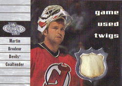 Martin Brodeur Trading Card Auction