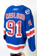 Markus Naslund Worn Bathgate/Howell Jersey Auction