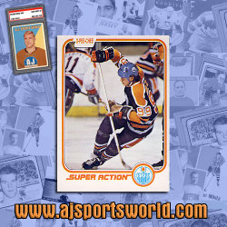 Wayne Gretzky Card Auction