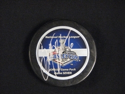Bret Hedican Signed Stanley Cup Final Game 7 Puck