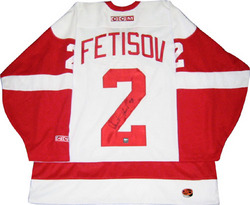 Slava Fetisov Signed Jersey Auction