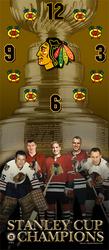 Chicago Blackhawks Clock Auction