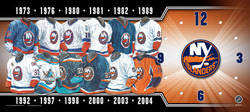 New York Islanders Clock Auction