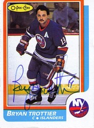 Bryan Trottier Autographed Card Auction