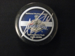 Andrew Ladd Signed Puck Auction