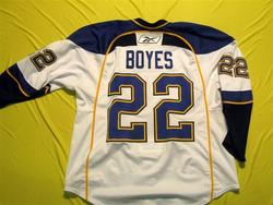 Brad Boyes Game-Worn Jersey Auction