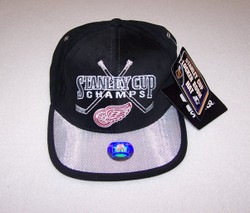 Detroit Red Wings Stanley Cup Hat Auction
