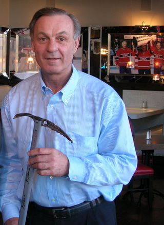 Guy Lafleur Signed Ice Axe Auction