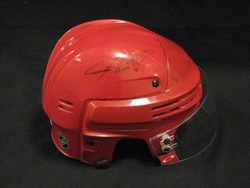 Justin Williams Game-Worn & Signed Helmet Auction