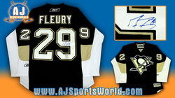 Marc-Andre Fleury Signed Jersey Auction