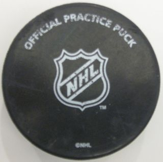 Official Stanley Cup Practice Puck Auction