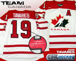 John Tavares Signed Jersey Auction