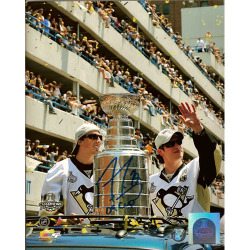 Marc-Andre Fleury Signed Parade Photo