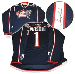 Steve Mason Signed Jersey Auction