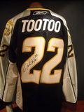 Jordin Tootoo Signed Jersey Auction