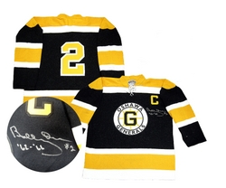 Bobby Orr Signed Oshawa Generals Jersey Auction