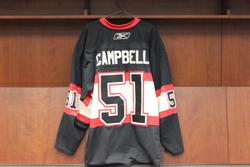 Brian Campbell Game-Worn Winter Classic Jersey Auction