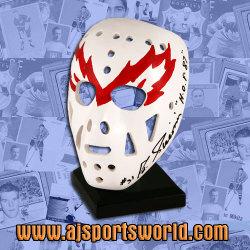 Eddie Giacomin Signed Mask Auction