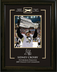 Crosby Framed Photo Auction