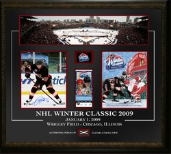 Patrick Kane Signed Winter Classic Collage Auction