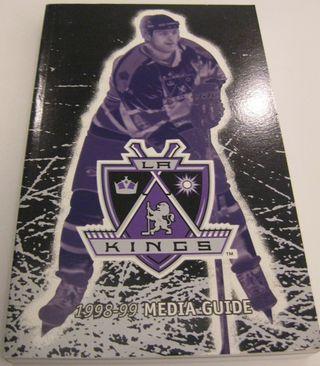 LA Kings Media Guide Auction